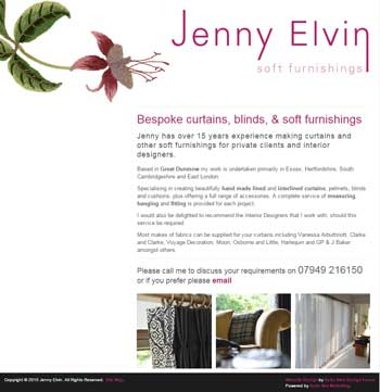 Jenny Elvin Soft Furnishings
