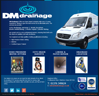 DM Drainage Screen shot