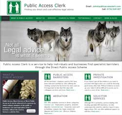 Public Access Clerk Website